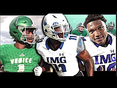 🔥🔥 IMG Academy Football V Venice High (Venice, FL) - Action Packed Highlights