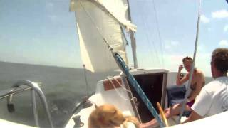 Galveston Bay First Sail