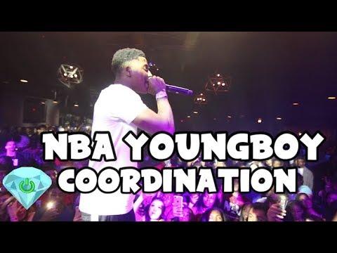 NBA Youngboy - Coordination - Live Performance (shot by @poweredondiamonds)