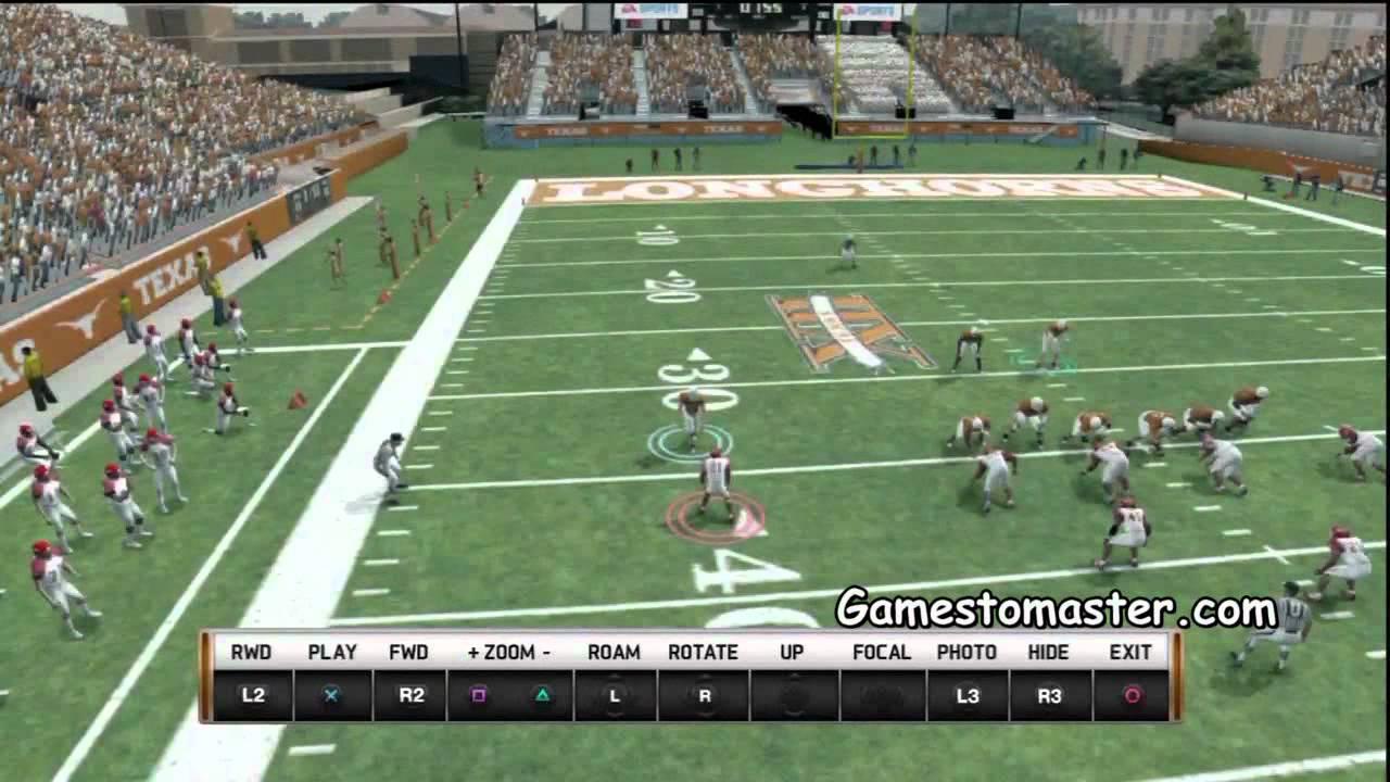 NCAA 13 Football Defense QB Spy Glitch YouTube