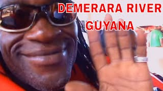 GUYANA - Crossing The Demerara River - Georgetown Guyana 2014