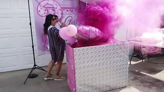 DIY Gender  Reveal Box