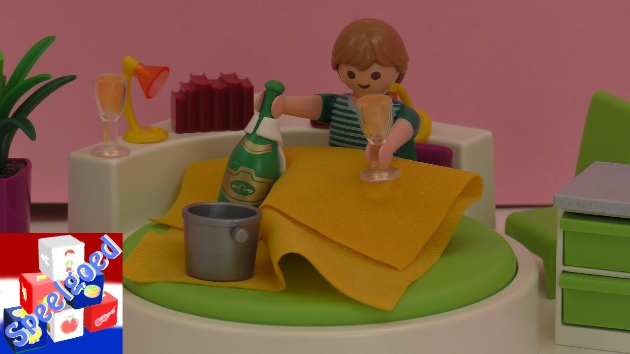 Playmobil slaapkamer – Slaapeiland voor de Playmobil villa unboxing ...