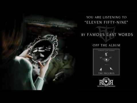 Famous Last Words - Eleven Fifty Nine Ft. Ricky Armellino