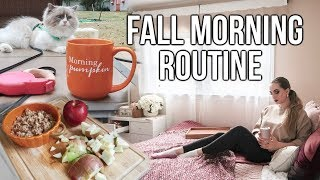 Fall Morning Routine 2019
