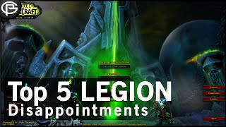 top 5 dissapointing features in legion