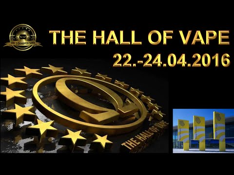 Hall of Vape 2016 in Stuttgart