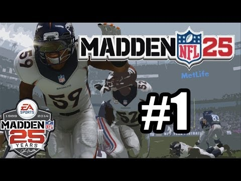Madden 25 :-: Danny Trevathan CF :-: Episode 1 :-: Taking Charge
