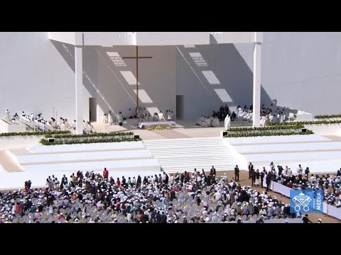 Holy Mass with Pope Francis in the Zayed Sports City, Abu Dhabi 5 February 2019 HD