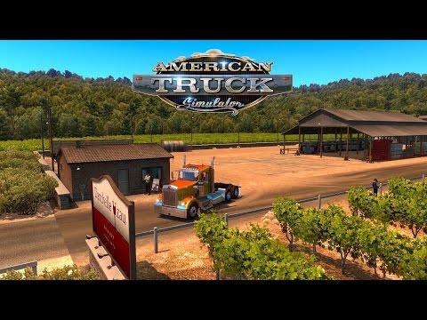 American Truck Simulator - Kenworth W900 - From Eureka to Winnemucca - Let's visit Nevada