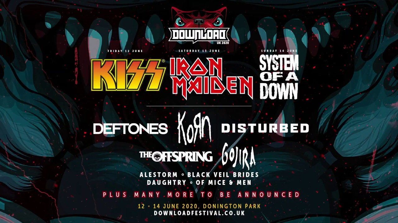 Download Festival 2020 Line Up Announcement Video Youtube