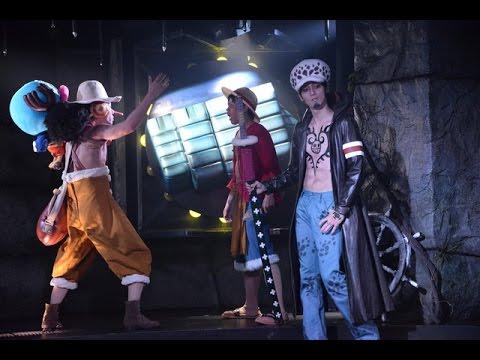 ワンピース ONE PIECE Live Attraction - LAW Appears - Zoro Sanji ...