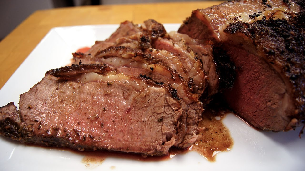 New York Strip Roast Youtube