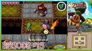 The Legend Of Zelda: Spirit Tracks - The Dark Floors, Fiery Phantoms & The Ocean Glyph - Episode 15