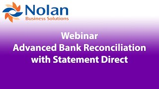 NetSuite Advanced Bank Reconciliation with Statement Direct Recorded Webinar