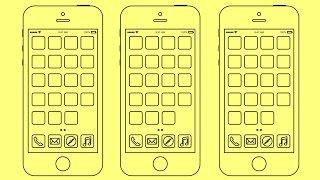 How to draw Iphone 5s | Как нарисовать Айфон 5 | Cómo dibujar 5s Iphone