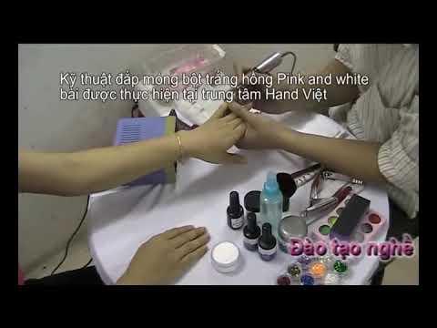 Dạy Đắp Móng Bột Tại HandViet | Kỹ thuật vẽ móng | Dạy nghề vẽ móng | Học nail