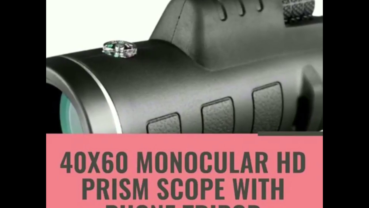 40x60 monocular telescope hd night vision www.manygadject.com