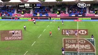 IRB 7s: Glasgow 7s- 3rd Place : Scotland vs Fiji