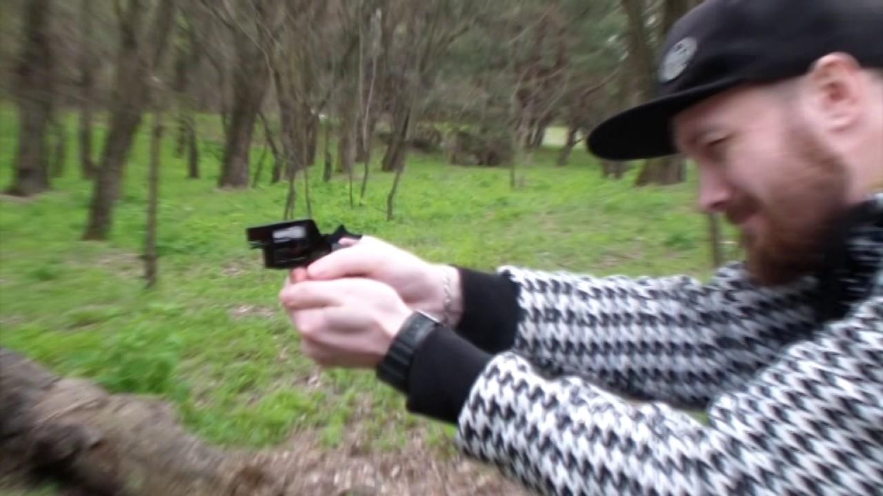 Пистолет КЛОН под Флобера от СЕМ, обзор, стрельба через