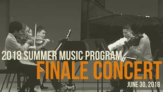 Summer Music Program 2018: Finale Concert (2 of 2)