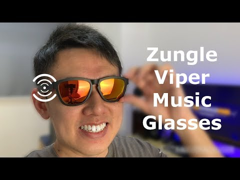 Zungle Viper Bone Conduction Music Sunglasses Review!