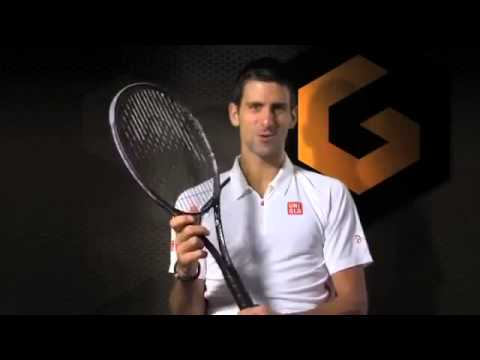 Test New 2013 Head Racquet Djokovic S Secret Weapon Tennis Youtube