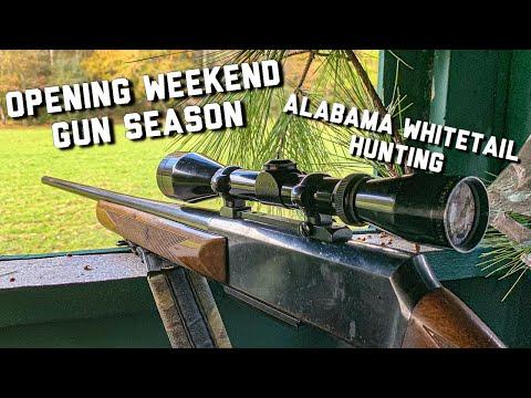 Alabama Whitetail Deer Hunting | Opening Day Of Gun Season