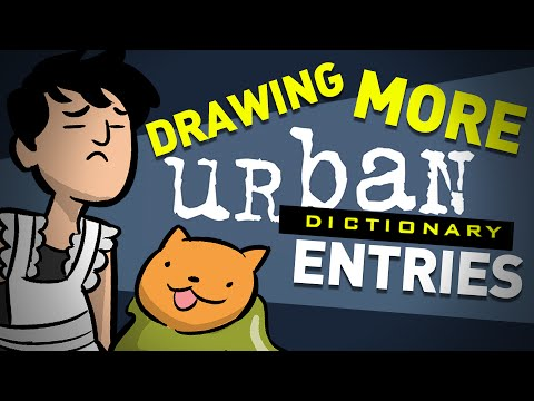 Revenge of the Urban Dictionary Drawing Challenge
