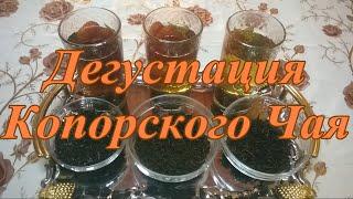 Копорский чай в домашних условиях ( Иван Чай, Кипрей ) Дегустация трех видов Копорского чая