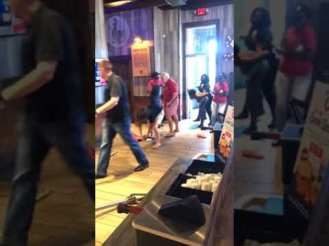Racist Zaxbys Florida Brawl Part2