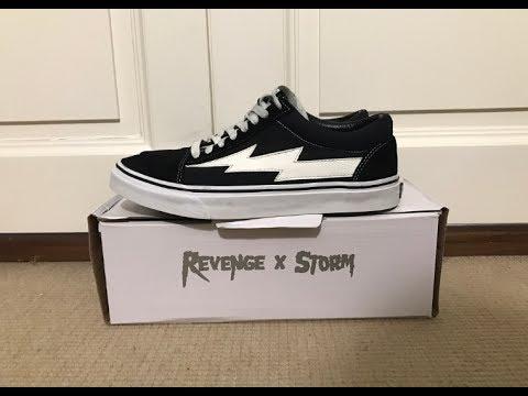 1aab7e3b078 Revenge X Storm Low Top Black Review