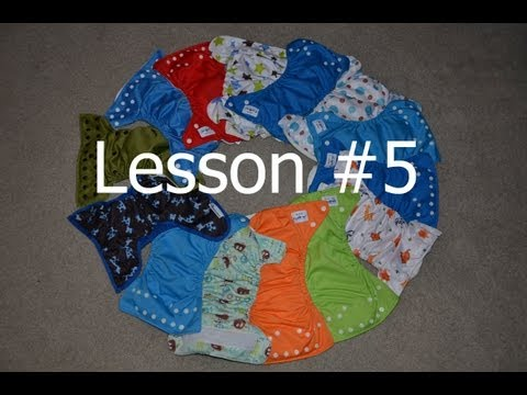 Lesson 5- Cloth Wipes - Cloth Diapering 101