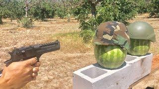 US military helmet vs Russian military helmet