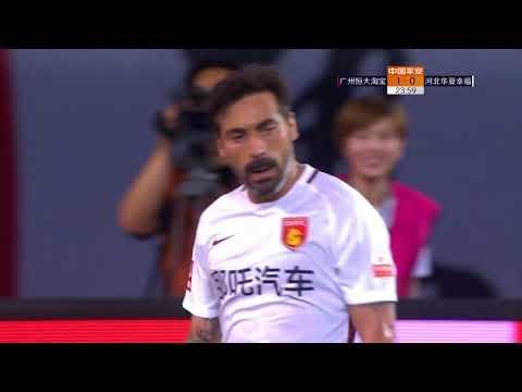 2018 CHA CSL   Round 10   Guangzhou Evergrande Taobao FC vs Hebei CFFC