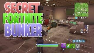 Fortnite - Bunker Secret Salty Springs!