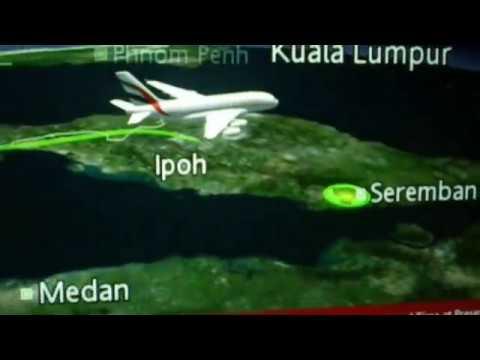 Emirates EK342 Dubai-Kuala Lumpur