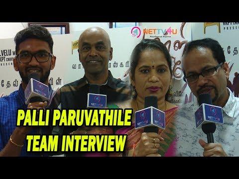 Palli Paruvathile Tamil Movie Team Interview | Director Vasudev Bhaskar |  Vijay Narayanan | Nettv4u