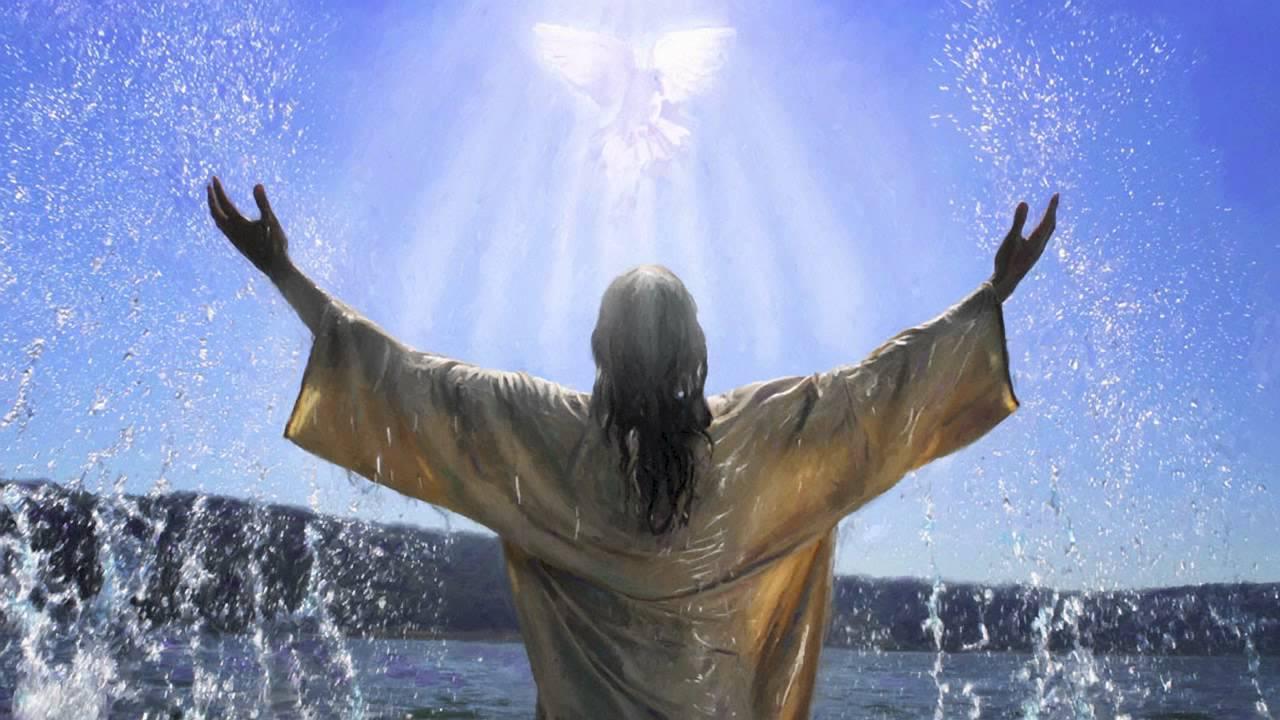 Kết quả hình ảnh cho chúa giê su chịu phép rửa