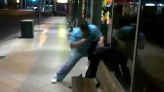 brutal mma street fight ground specialists arm break