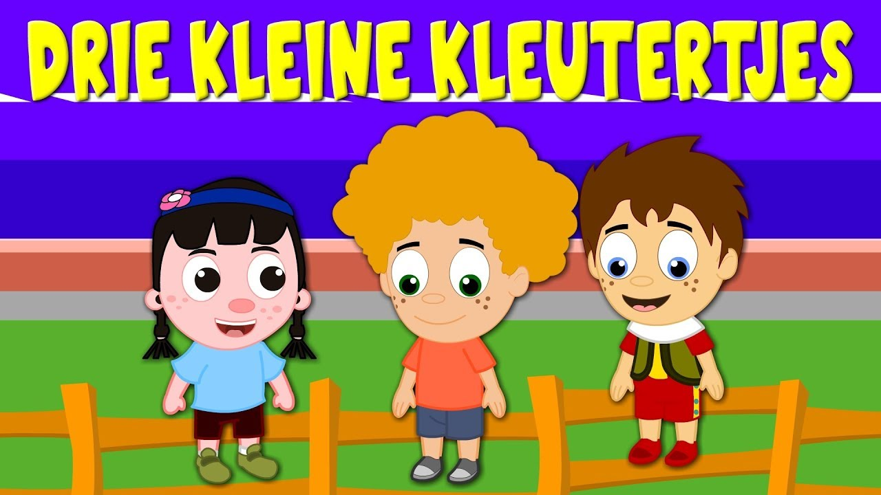Magnifiek Drie kleine kleutertjes - Kinderliedjes van vroeger - YouTube #YP53
