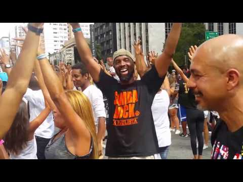 Flash Mob samba rock 2017 Paulista