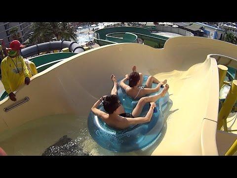 The White Water Slide at Splash Jungle Water Park