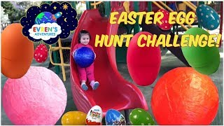 GIANT SURPRISE EASTER EGGS HUNT CHALLENGE ! Opening  Giant Eggs Surprise Disney Marvel TMNT Toys