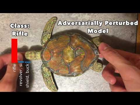 Engañando a la inteligencia artificial con muestras contradictorias impresas en 3D