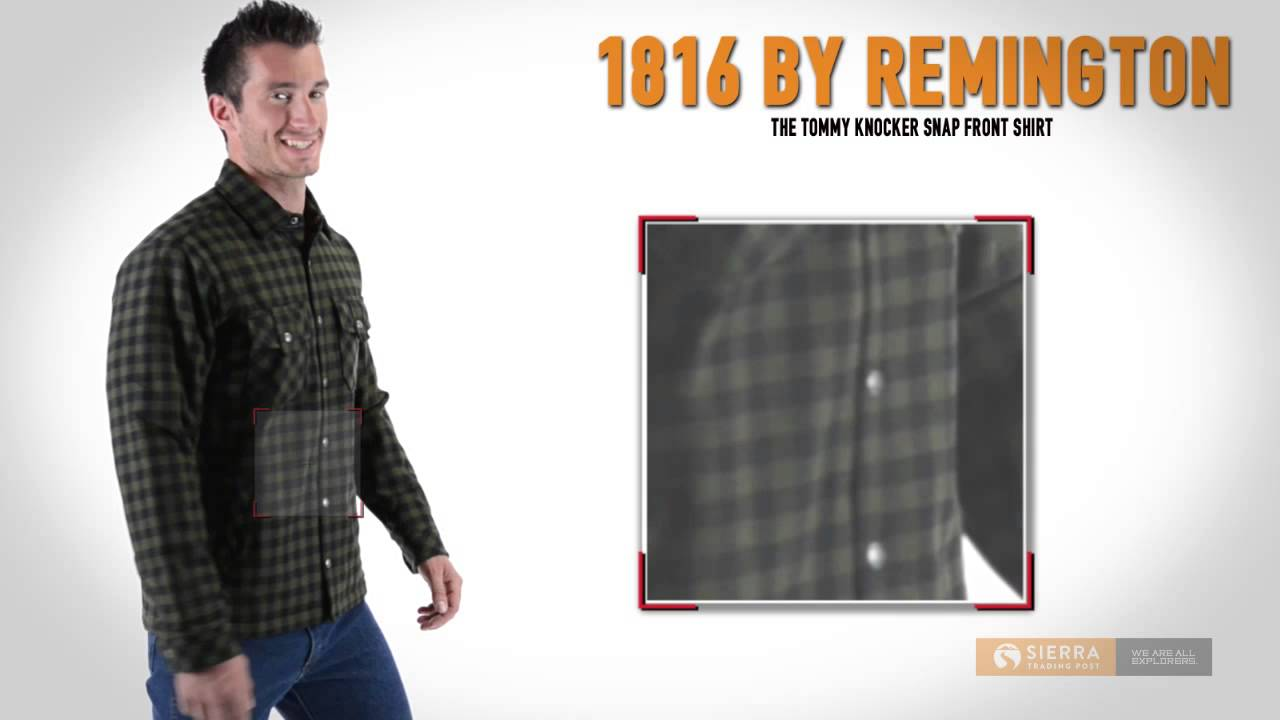 1816 by remington the tommy knocker snap front jacket for men