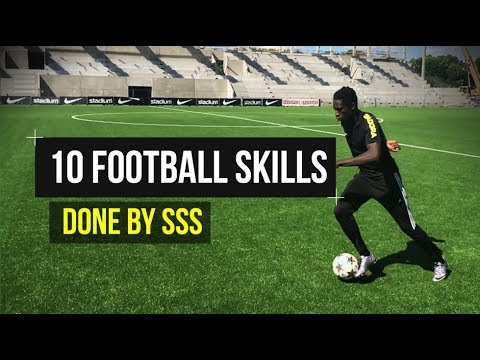 10 Epic Football Skills - Can you do them all?