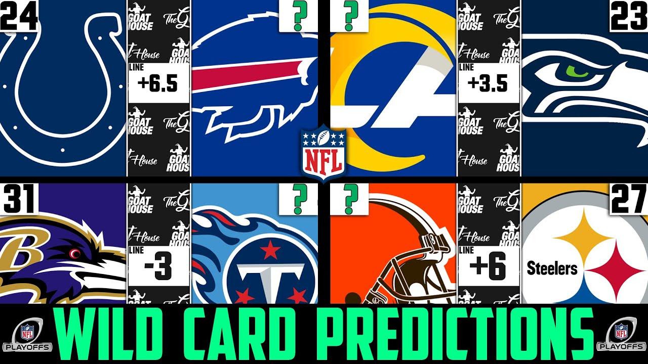 betting lines nfl wild card weekend 2021