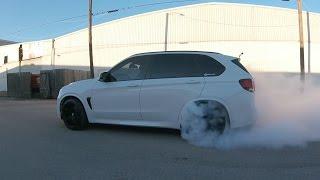 bmw x5m burnout f85 bmwadrenaline