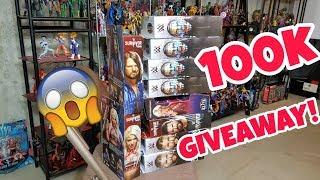 100k FREE WWE FIGURE GIVEAWAY thumbnail
